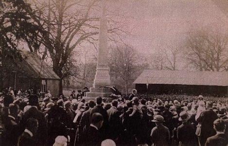1st Sunningdale Scout Hut in 1929