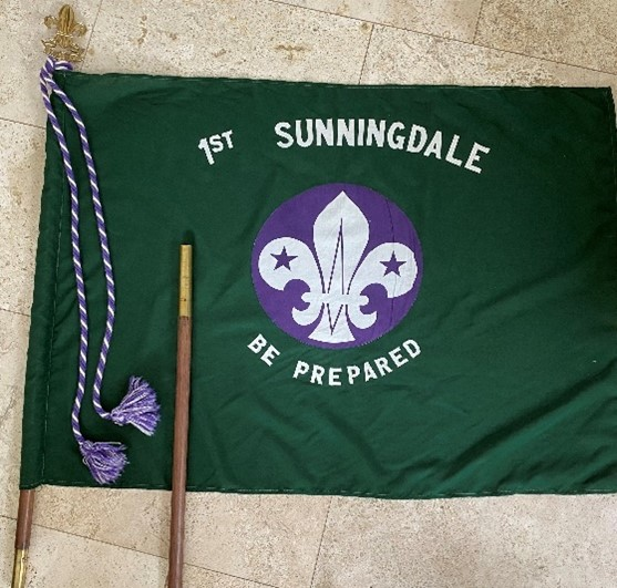 1st Sunningdale Scout Flag