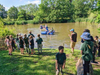 Rafting at Bears Rails