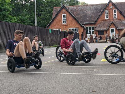 Go Karting at Holy Trinity