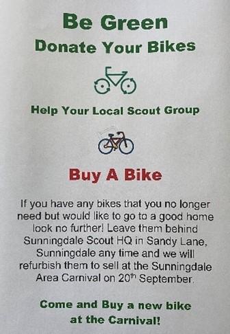 Bike Sale Flier